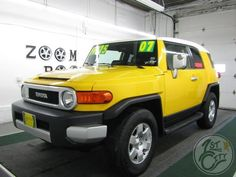 2007 Toyota FJ Cruiser for sale at First City Cars and Trucks in Rochester, NH! Rochester Nh, Used Suv For Sale, 2007 Toyota Fj Cruiser, Granite State, City Car, Van, Trucks, Vans, Truck