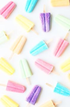 Popcicle background that is really cute.