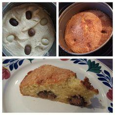 Paascake'je uit de airfryer:  overgebleven paaseitjes verwerkt in een cake'je.  100 gr boter  100 gr bloem  100 gr suiker 2 eieren  Paaseitjes ;)   Ongeveer 30/35 minuten op 155 graden en smullen maar!