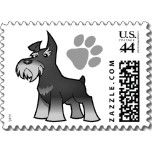 Schnauzer postage stamps...why not?