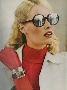 Vogue US February 15th, 1972  Model: Gunilla Lindblad  ph: Helmut Newton