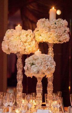 Breathtaking New York Wedding with Ballroom Glamour Decor… Mod Wedding, New York Wedding, Elegant Wedding, Wedding Events, Wedding Reception, Glamorous Wedding, Decor Wedding, Wedding Lighting, Event Lighting