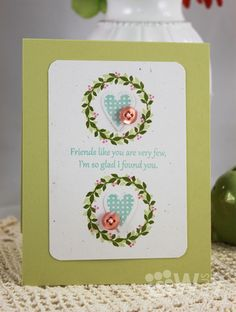 Dawn Woleslagle for Wplus9 featuring Spring Tags, Folk Art Florals and Heartfelt Mix stamp sets, Hearts & Clouds die.