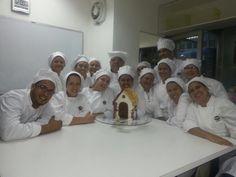 Grupo matutino de la Maestría de Repostería en @Grupo Acádemico Panadero Pastelero, (GAPP)