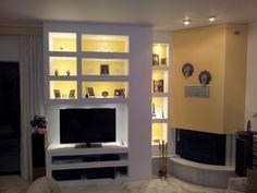 Σχετική εικόνα Shelves, Living Room, House, Furniture, Design, Home Decor, Gadgets, Google, Image