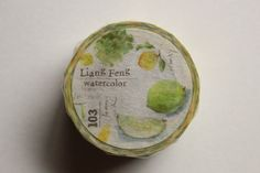 Lemon and Lime Washi Masking Tape | Nature Washi Tape | Decorative Tape - 20mm x 10m - 5452