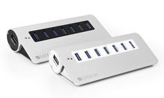 Satechi-7-Port-USB-3.0-Aluminum-Hub.jpg 593×356 pixels