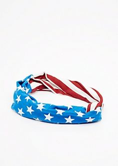 Americana Twisted Hairband