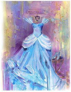 Modern Nursery Art Featuring the Disney Princesses