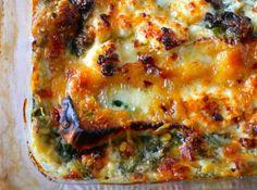 Espinafre com queijo Brie - Veja como fazer em: http://cybercook.com.br/receita-de-espinafre-com-queijo-brie-r-2-16024.html?pinterest-rec