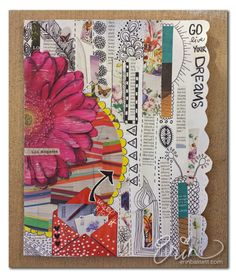 Prompt - Magazine Art Journal Page - Erin Bassett
