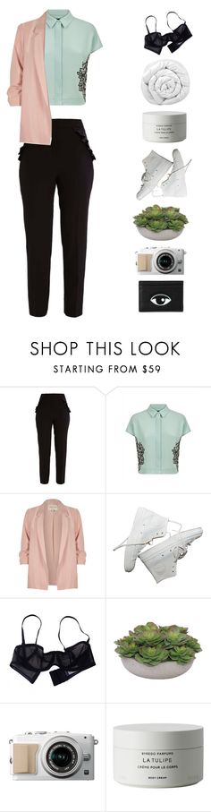"""""""h a t t e r"""" by tangled-in-fairylights ❤ liked on Polyvore featuring Miss Selfridge, Jaeger, River Island, Eres, Lux-Art Silks, Byredo and Brinkhaus"""
