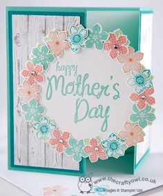 Mother's Day Card by The Crafty Owl  #mothersdaygift