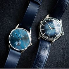 📷 of his Orion Midnight Timeless LE and Seiko Presage Cocktail Time 🍸 ・・・ Double 💥💥 . Seiko Presage, Watches Photography, Seiko Watches, Everyday Carry, Watches For Men, Accessories, Style, Clocks, Luxury
