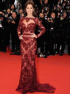 Cheryl Cole in Zuhair Murad #Cannes