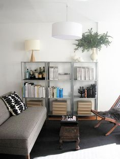 How To Rock Ikea Hyllis Shelves In Your Interior Ideas Ikea Living Room Chairs, Living Room Shelves, Living Room Furniture, Living Room Decor, Dining Chair, Small Living Room Layout, Living Room Grey, Living Room Designs, Living Area