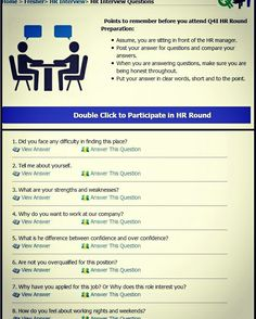 36 best interview question images on Pinterest | Interview questions ...
