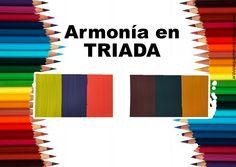 """Teoría del color Cap. 12 """"Armonía en triada"""""""