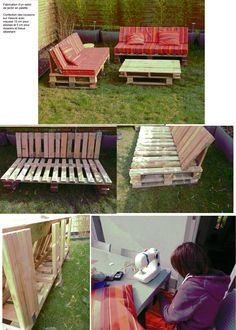 Construction d\'un abri de jardin avec des palettes | Abri de ...
