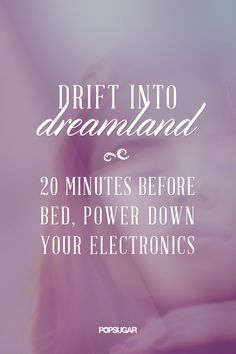 A Simple Way to Guarantee a Good Night's Sleep