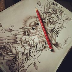 Wise Owl Tattoo Designs