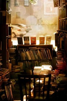 To be surrounded by books, I can't think of a better thing.