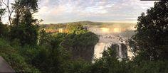Iguacu Falls Panoramic