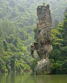 Elephant Rock China
