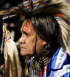 Native American Portrait by Darren L Carroll, via Flickr