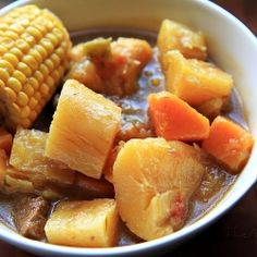 Sancocho (Puerto Rican Beef Stew) Curl up with a bowl of this during the cold season.
