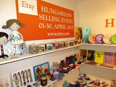 #hetsellingevent - Hungarian Etsy Selling event article on the CafeBlog! Chekc out our exhibition!