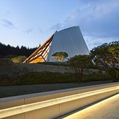 [1]   [2] [3] Building:Miho Chapel Location: Shirgaraki, Japan Status: Completed in 2012 Architect: IM Pei Structural Engineer: Leslie E. Robertson Associates AE Interest: simplistic desi…