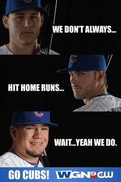 Especially in the Cubs v. Sox series at Guaranteed Rate Field this season. Chicago Cubs Fans, Chicago Cubs World Series, Chicago Cubs Baseball, Baseball Boys, Softball, Baseball Boyfriend, Baseball Memes, Baseball Gloves, Basketball Hoop