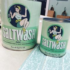 Can't wait to try this! #happymail @ilovesaltwash #paintedfurniture