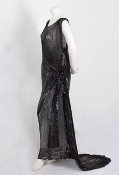 1930s Clothing at Vintage Hollywood style evening dress