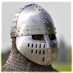 XII - norman helmet with face guard