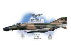 Royal Korean Air Force F-4B Phantom II Profile