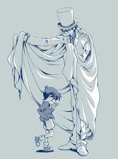 Conan and Kaito