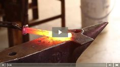 VIDEO How to Make a Railroad Spike Knife - DIY Knife Making | Blacksmithing Step by Step Tutorial by Pioneer Settler http://pioneersettler.com/video-how-to-make-a-railroad-spike-knife-diy-knife-making/