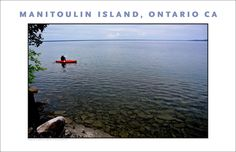 Kayak on Lake Manitou, Sandfield, Ontario, Canada #695