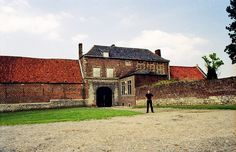 In 1815, Napoleon Bonaparte was finally defeated near the village of Waterloo, just south of Brussels.  More specifically: In the huge battlefield there was one farm where his troops just couldn't get through, wave after wave after wave: Hougoumont.