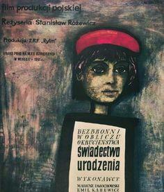 Swiadectwo urodzenia (1961) (Birth Certificate)  IMDb: Polish Movie Posters - a list by yanno-538-999448