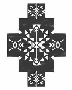 Black and White Tribal Print Aztec Decor Aztec Decor, Aztec Art, Boho Decor, Typography Prints, Hand Lettering, Nursery Wall Art, Nursery Decor, Rose Gold Decor, Bible Verse Wall Art