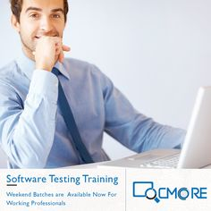 Upgrade yourself! Unlock your true potential! Get trained by experts in technology and grow in your career.  Best training programs for working professionals (weekend batches) in Selenium with a course curriculum designed specifically for working professionals, to help them progress in their career. Call Us Now @ 9061 645 458 Visit Us @ www.qcmore.com