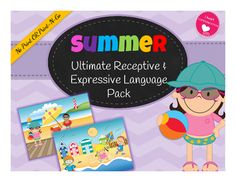 Ready for summer??? Dont want to plan the last few weeks of school.THIS is your answer!!*****20 interactive language building activities included!!*******Designed specifically for the On-The-Go SLP, and arent we all?!?Targets multiple language goals to make preparing for language groups a breezeActivities include:Answering WH QuestionsAnswering Social QuestionsFollowing DirectionsPrepositionsVocabulary SkillsAsking WH QuestionsAsking SOCIAL QuestionsNeed to include articulation goals?