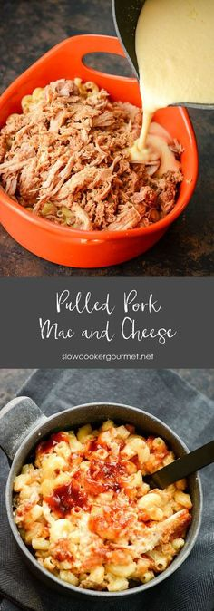 Pulled Pork Mac and Cheese: