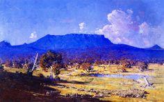 Sir Arthur Streeton (Australian, 1867 - 1943): Land of the Golden Fleece, 1926