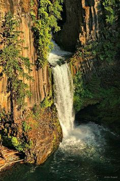Toketee Falls - Oregon's Umpqua River Valley