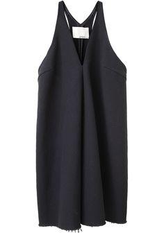 Minimal + Classic: 3.1 Phillip Lim dress, love the raw hem detail