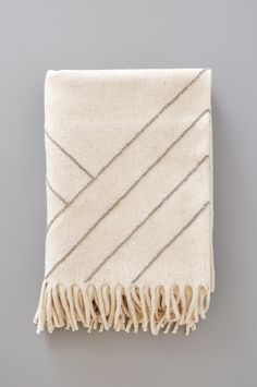 Blanket - Stella Lines Gray by Koromiko